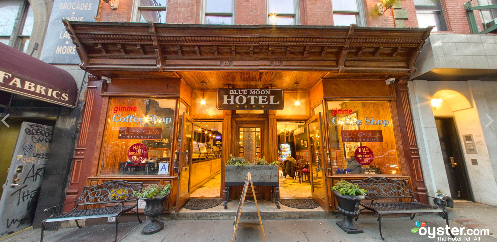 Blue moon boutique hotel ny day rooms hotelsbyday for Boutique hotel
