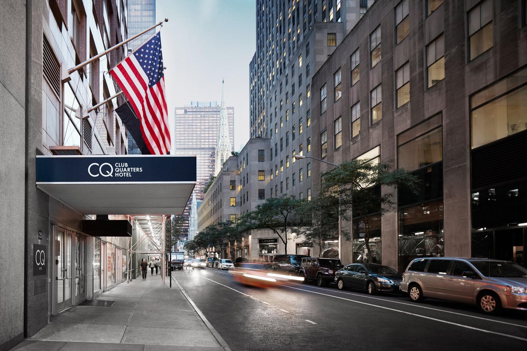 Club Quarters Hotel Rockefeller Center New York City